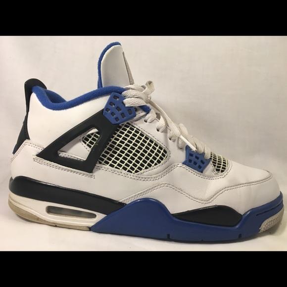 Jordan Other - Nike Air Jordan 4s Blue sz 10